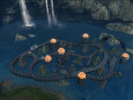 Halo Reach Map: Flametacular by KindiChan