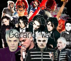 Png Of Gerard Way by AmyMCRLover