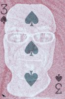 3 of Spades. by jennystokes