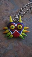 Majoras Mask Necklace by PunkTrunk