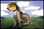 Speed Paint: Ferreting by Mishamutt