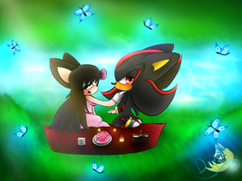 PC- Picnic by DerianaTheHedgehog