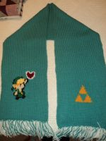 Legend of Zelda Scarf by LegendofFullmetal