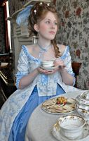Duchesse d'Orleans at tea 01 by Idzit