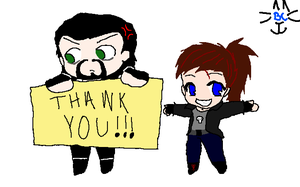 THANK YOU FOR 1000 VIEW by BluecheetahX3