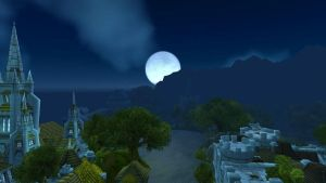 Full Moon over Stormwind by Saphira001