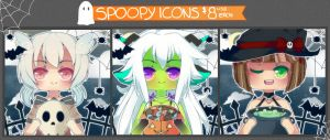 Spoopy Icons [CLOSED] by WanNyan