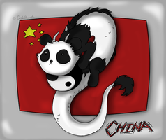 United Dragons - Panda by DordtChild