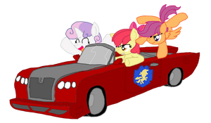 CMC's reaction to Need for Speed:Most Wanted 2 by Hyperwave9000