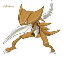 Kabutops by frogsinmypool325
