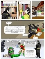 Library Batman 2 by Snackbot