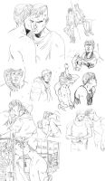 BULLY sketchdump by theSSjulia