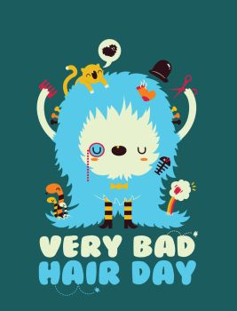 Very Bad Hair Day by matchola