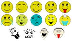 Smilies (Inkscape symbols library) by Arvin61R58