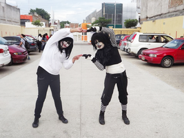 Laughing Jack x jeff the killer cosplaycreepypasta by yakushinoda
