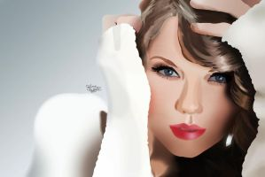 Taylor Swift Vector by Salma-H