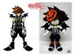 Halloween Town Sora -- CRAFT SWAP! by car2in-bitz