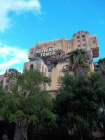 Looking up at Tower of Terror by foxanime101