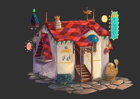 house by switch-on-the-lights