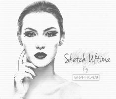 Photoshop Sketch Action by Graphicadi