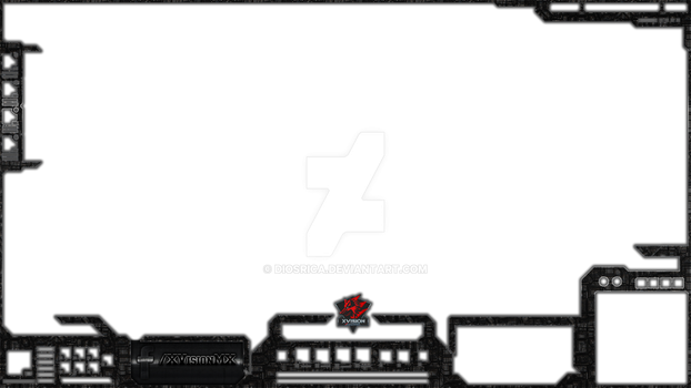 overlay de Xvisionnegrorobot by DiosRica