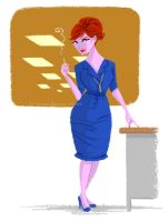 Joan Holloway by juanbauty