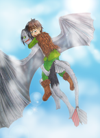HTTYD How to fly your anthro by MangaX3me