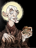 Nosferatu and His Muffin by stablercake