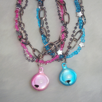 Pink and Blue bracelets by Cheila
