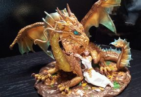 Dragon Cake Topper by AstridMakosla
