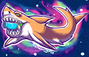 BOOM BOOM CANNON SPACE SHARKS by pukukurin
