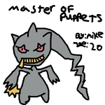 /vp/ MS Paint Pokemon Challenge: Banette by monketron