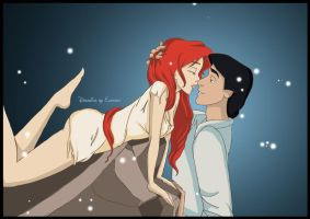 Ariel and Eric by ElasserPrincess