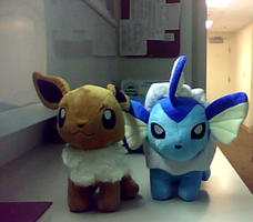 MAH EEVEE TOYS CAME. by AruneProject