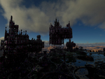 castle in the clouds by Dr-Koesters