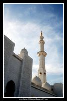 Zayed Mosque Minarate 3 by Sultan-Almarzoogi