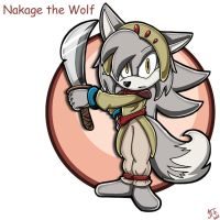 .:REQUEST:. Nakage the Wolf by SonicFF