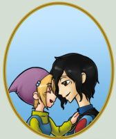 SW - Dopey and Snow White by XoverLover