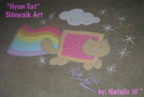 .: Nyan Cat LIVES :. by tira-chan