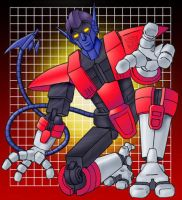 Nightcrawler as a Transformer by andydiehl