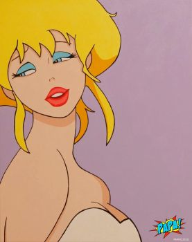 Holli Would (2 Piece Set with Jessica Rabbit) by PAPA-PopArt