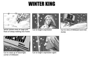 Winter King Billboard Storyboards by gzapata