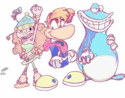 Rayman Legends Crew by SSProjects