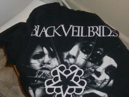 Black Veil Brides T-shirt by A7XFan666