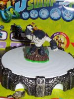 (Skylanders) Terrafin Series 1 on the Portal by KrazyKari