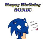 Happy Birthday Sonic! by Robofluff