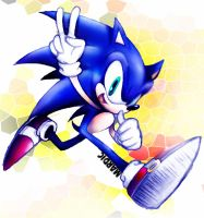 Blue Sonic by Mardic