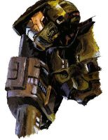 Master Chief from Halo 2 by Atsumi