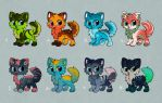 Kitties auction adopt [CLOSED] by eating-rainbow