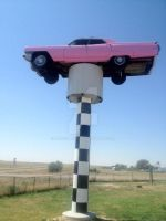 The Pink Cadillac by AriGirl101